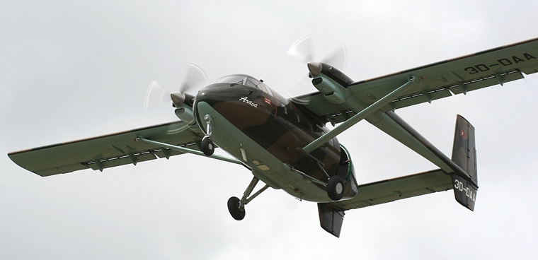 Pilot's Post - IAI Arava-Israeli light STOL utility