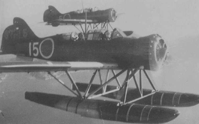 Pilot's Post - Japanese Submarine and Flying Boat Offensive off